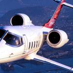 {:ru}Частный самолёт Learjet 60 XR в Черногории